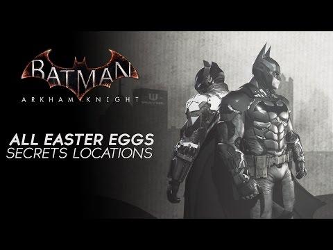 Batman Arkham Knight - All Easter Eggs &...