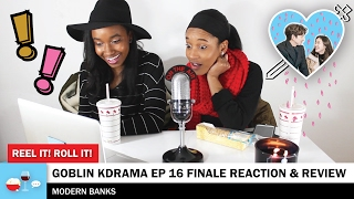 Video GOBLIN KDRAMA EP 16 REVIEW/REACTION - 쓸쓸하고 찬란하神-도깨비 - 리액션 download MP3, 3GP, MP4, WEBM, AVI, FLV Januari 2018