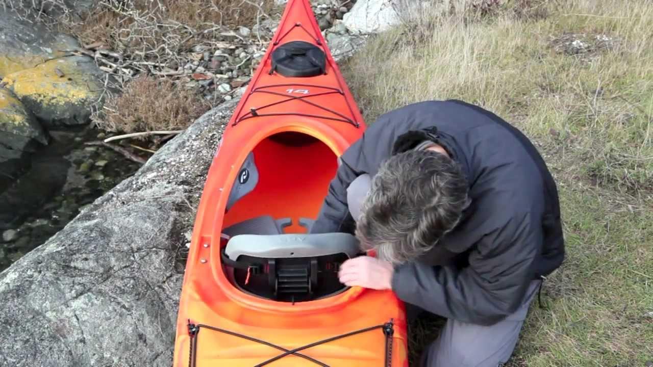 Necky Kayaks ACS Comfort Seatback - YouTube