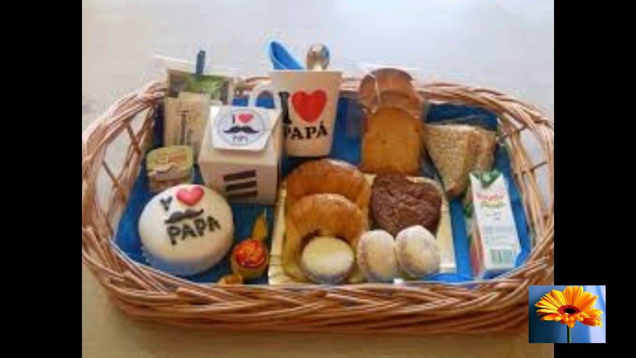Desayuno para el dia del padre mas de 15 ideas riquisimas - Ideas para regalar a un padre ...