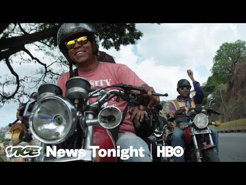 Venezuela's Armed Civilians & Homeless App: VICE News Tonight Full Episode (HBO)