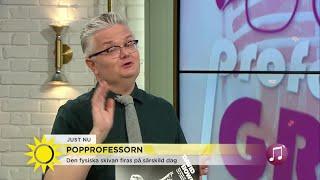 Från barnstjärna till veteran - popprofessorn hyllar Molly Sandén - Nyhetsmorgon (TV4)