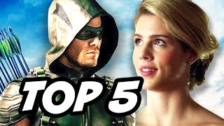 Arrow Season 4 Episode 16 - TOP 5 WTF and Easter Eggs
