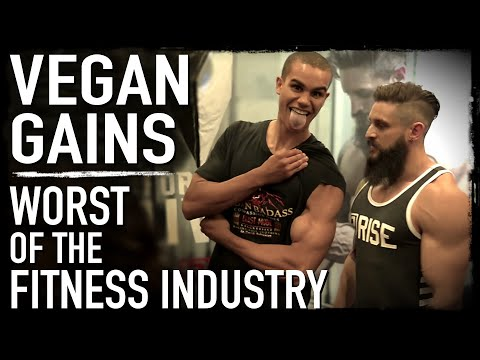 Vegan Gains Worst of the Fitness Industry Interview