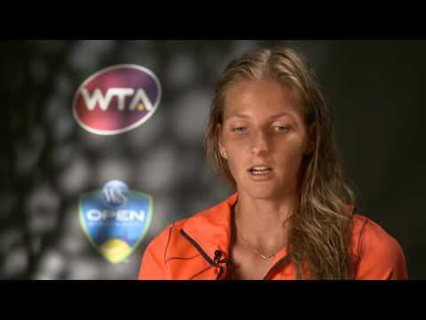 Karolina Pliskova 2016 Western & Southern Open Final Interview