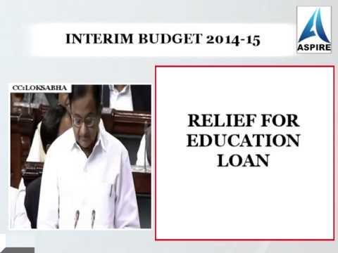 Interim budget 2014-15