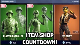 *New* Fortnite Toy Soldier Skins!!! (Item Shop Countdown Live)