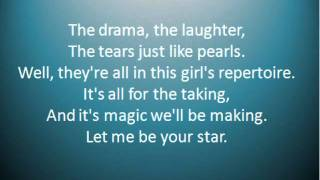 """Let Me Be Your Star"" by Smash (Lyrics included)"