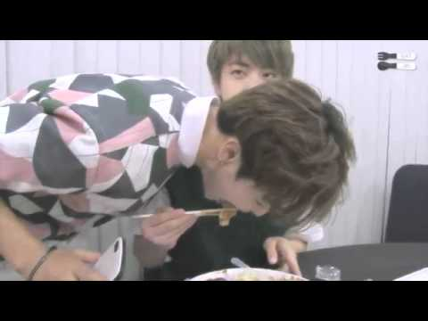 BTS JIN EATING TRIBUTE TO RELIEVE YOUR STRESS!♡★♪
