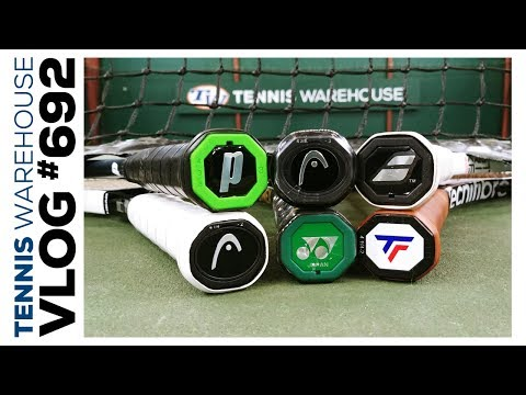Best Control & Feel Tennis Racquets that are also Whippy, Light & FAST (spin friendly) VLOG #692��