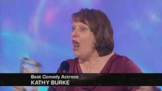 Kathy Burke funny acceptance speech