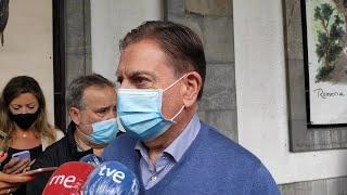 El alcalde de Oviedo, Alfredo Canteli, hace balance de Sna Mateo