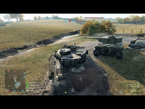 Battlefield 5: Panzerstorm Conquest Gameplay (No Commentary)