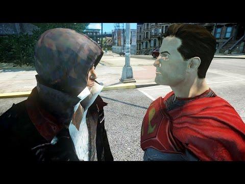 SUPERMAN VS ALEX MERCER - EPIC BATTLE
