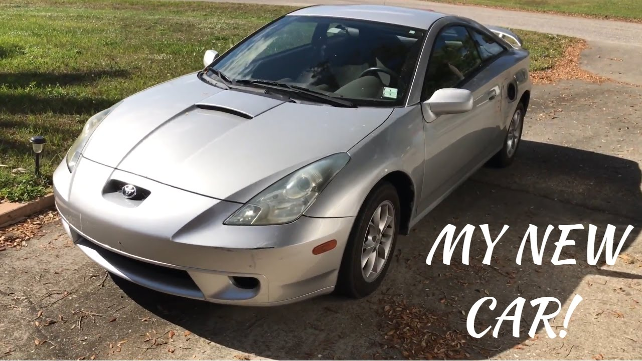 my new car 2001 toyota celica gt youtube. Black Bedroom Furniture Sets. Home Design Ideas