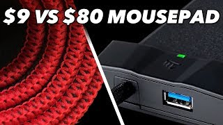 $9 Mousepad Vs. $80 Mousepad: We Try Cheap Vs. Expensive Gaming Mouse Pads in Fortnite