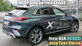 KIA Xceed 2019 New TEST Drive POV