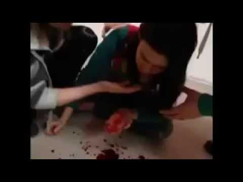 girls being fuck with a baseball bat