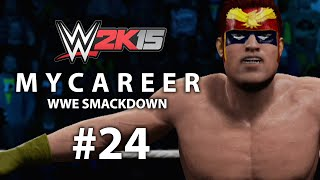 WWE 2K15 (Xbox One) MyCareer w/ Captain Falcon #24