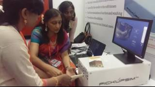 Dr sonal panchal giving pick up simulator training