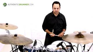 Getting Around The Drums | Rudiments/Motion | Authentic Drummer | Adrian Violi