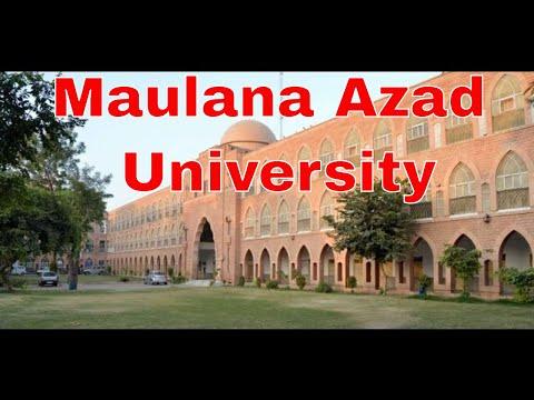 Maulana Azad University, Jodhpur