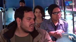 TIPOS DE PERSONAS EN EL TRANSPORTE PÚBLICO | CORTE Y QUEDA thumbnail