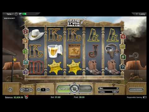 BIG WIN X878 Slot DEAD OR ALIVE On PokerStars!БОЛЬШОЙ ВЫИГРЫШ на ПокерСтарс