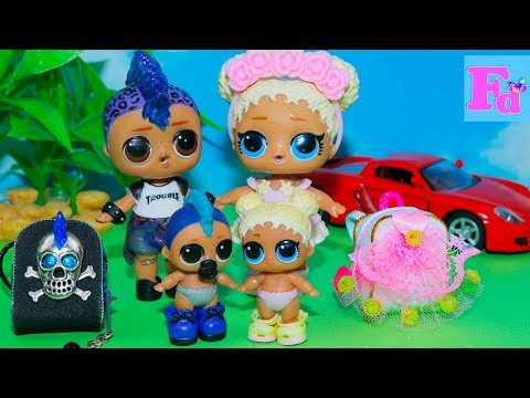 LOL Surprise DOLLS ~DIY Miniature School Supplies Backpack Рюкзак для куклы ЛОЛ  Сюрприз