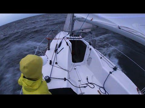 Santer 760 на крепком ветру