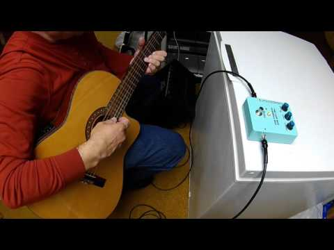 THE LAST BOX Demo - Classical Guitar with Peavey Rage 158 Amp