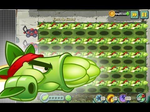 Plants Vs Zombies 2 El Devastador Poder de los Espárragos (Versión China)