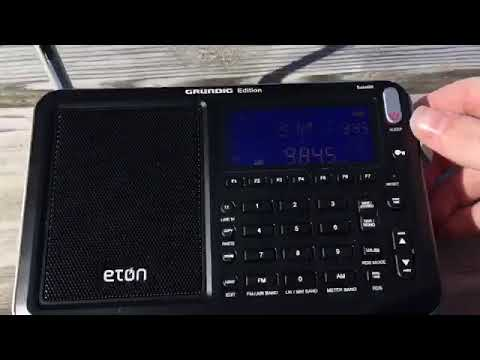 Eton Satillit Radio Unboxing and Review