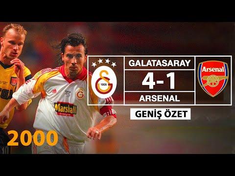 UEFA Kupası | Galatasaray - Arsenal  Final maçı 17.05.2000