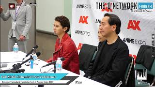 Anime Expo 2017 Full Metal Alchemist Live Action Movie Press Conference