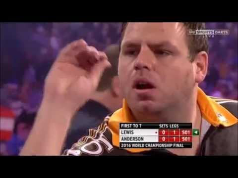 Adrian Lewis vs Gary Anderson 2016 PDC World Darts Championship FINAL [FULL MATCH]