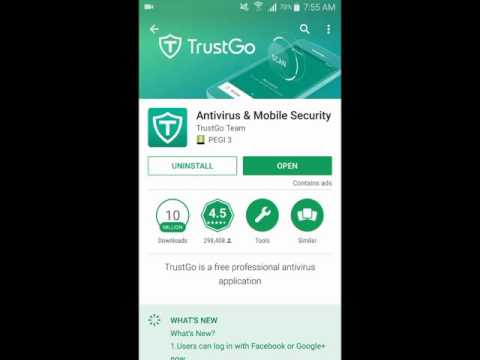 TrustGo for Android - Full Antivirus Application for Mobile Security