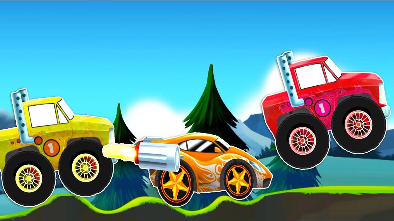 Машинки развивающий мультфильм. Машинки для детей 3 лет ...