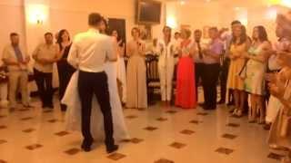 Свадьба  15.08.15  Галя Саша. Жених умница такой сюрприз приготовил своей невесте