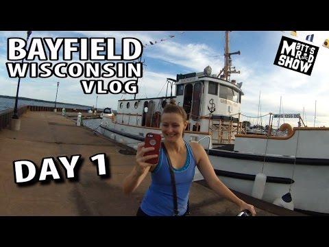 Exploring Bayfield Wisconsin on Bike - Best Town In the Midwest! - Pier Tour - Matt's Rad Show