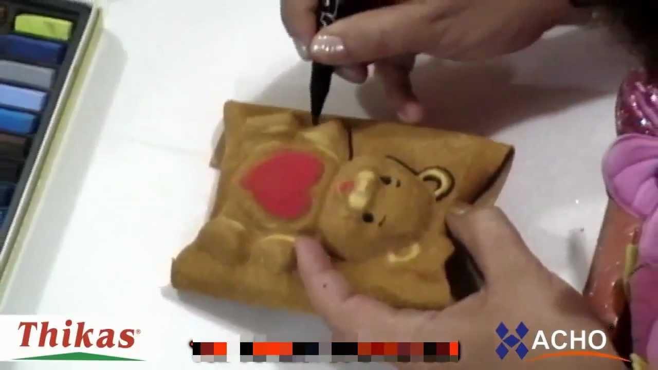 c1f71fbd74d Como hacer Ositos y Angelitos 3D de Fomi con Moldes Termoformado ...