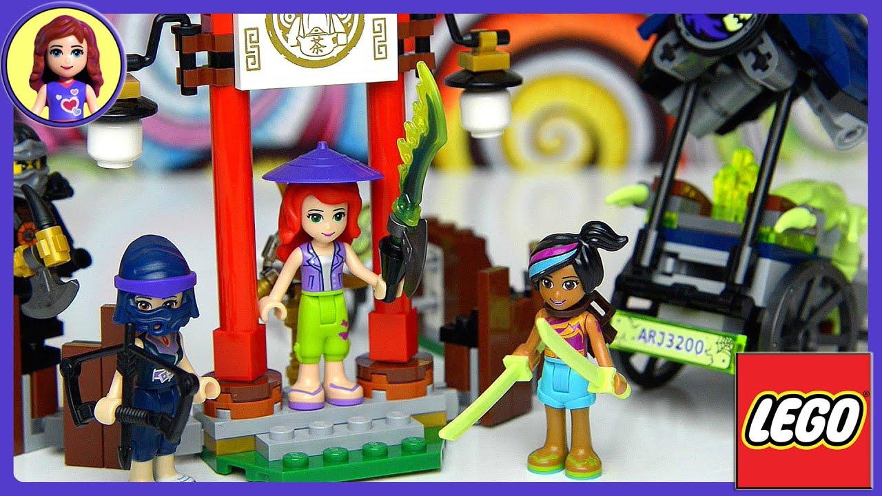 Ninja Toys For Girls : Lego friends girls meet ninjago master wu dragon