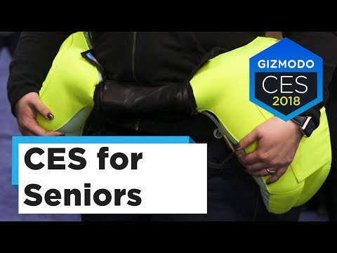 CES 2018's Hottest Tech Trend Might Be Gadgets for Old People