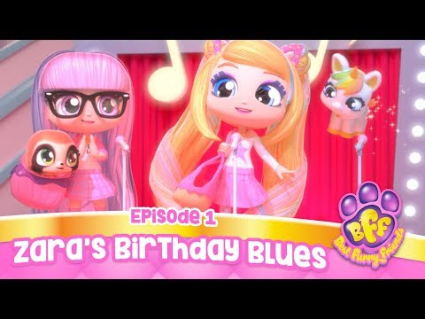 Best Furry Friends, Episode 1 (Zara's Birthday Blues) | Cartoons for Kids | Full Episode