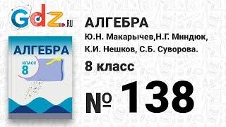 № 138- Алгебра 8 класс Макарычев