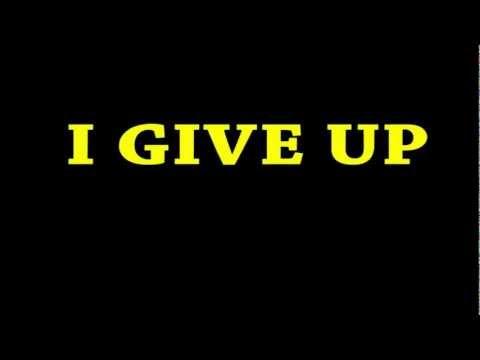 I Give Up - JonTron