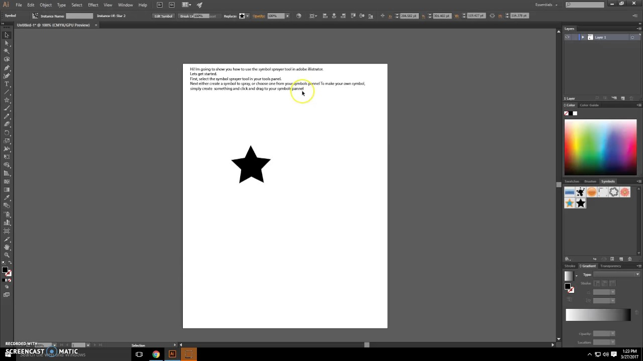 Adobe illustrator symbol sprayer tool tutorial youtube adobe illustrator symbol sprayer tool tutorial biocorpaavc