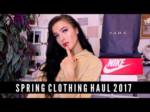 SPRING TRY ON CLOTHING HAUL 2017 -...