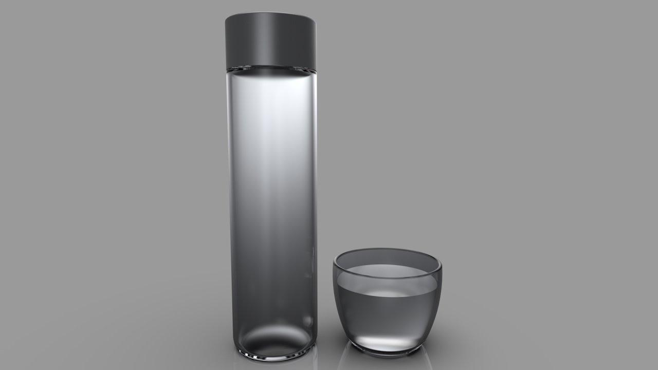 Voss Water Bottle - Bottle Designs