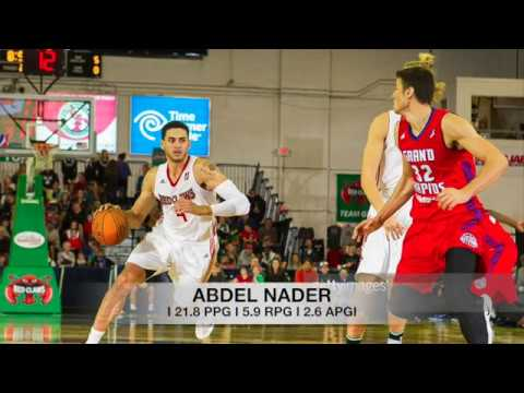 Abdel Nader - Maine Red Claws (2016-17)